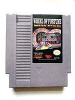 Wheel Of Fortune - ORIGINAL NES Nintendo Game Tested + Working & Authentic!
