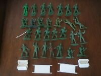 MPC RING HAND VINTAGE 1950s-60s ARMY Green Army SOLDIERS & Stretcher & Lockers