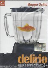 Dvd **BEPPE GRILLO ~ DELIRIO TOUR 2008/2009** nuovo sigillato Region Free