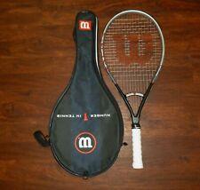 """Wilson Mach 3 Oversize Tennis Racquet 4 3/8""""  #2192"""
