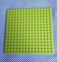 Genuine Lego Lime Green Baseplate 16 x 16 Stud. Base Board Flat Building