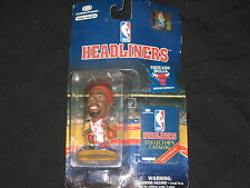 DENNIS RODMAN BULLS HEADLINERS AUTHENTIC COLLECTIBLE ACTION FIGURE NEVER OPENED