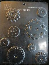 ASSORTED GEARS MOLD GEAR mold Chocolate Candy dad rotary club fathers day