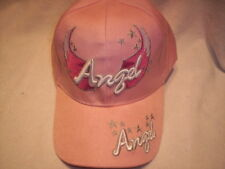 Baseball cap ANGEL Hat with adjustable  strap PINK Color NEW
