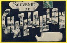 cpa Souvenir de la Ville de CHÂTELAILLON PLAGE en 1910 à Olive CHOLLET, GERMOND
