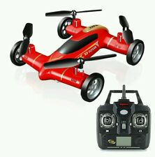 Syma X9 Gyro RC Quadcopter 2.4G 4CH 6-Axis Air-Ground Flying Car Brilliant Gift