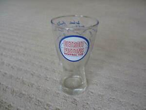 1969-70 Detroit Pistons Basketball Club NBA Drinking Glass *