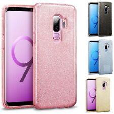 COQUE galaxy s9 / s9 plus housse etui strass bling bling + film incurvé