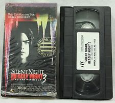 Silent Night, Deadly Night  Pt 3 Better Watch Out Cult Classic Horror VHS 1989