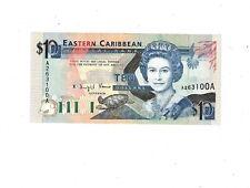 1993 EAST CARIBBEAN STATES Antigua 10 DOLLARS P27a UNC PB1