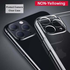 CLEAR Case For iPhone 12/12 Mini/11 PRO MAX Shockproof CAMERA LENS PROTECT Cover