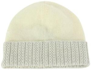 Louis Vuitton Medium Cream Beanie Knit Wool and Cotton XS 254lv17