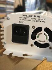 H1-1000COW-GBA 1000W HPS-MH Digital Dimmable 120 240 Volt Ballast Grow Lights