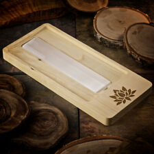 Healing Stones for You: Lotus Blossom Crystal Charging Tray with Selenite Bar