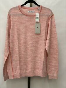 Tommy Bahama Marble Beach Crew Neck Sweater T422349 Choose Color & Size