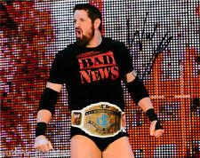 WWE Wade Bad News Barrett Autographed Signed 8x10 Photo COA