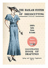 The Haslam System of Dresscutting No. 6 1930's -  Copy