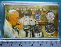 Coins of the Vatican set in Plastic Case #5657