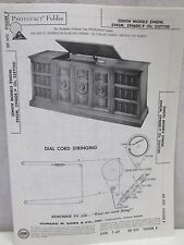 Vintage Sams Photofact Folder Radio Parts Manual Zenith Z940W Z942M Z946DE
