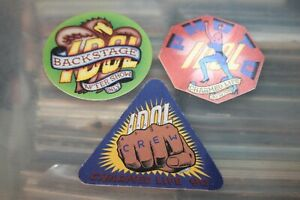 Billy Idol  - 3x unused Backstage Pass - FREE POSTAGE -