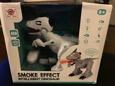 Walking Dinosaur Kids Light Up Toys Sound Action Figure Smoke Effect Movement
