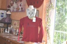 tee shirt neuf repetto rouge fenice 3 ANS+++