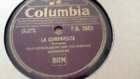 FELIX MENDELSSOHN & HIS HAWAIIAN SERENADERS LA CUMPARSITA COLUMBIA FB2605