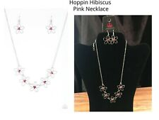 Paparazzi Hoppin Hibiscus Pink Necklace