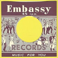 EMBASSY REPRODUCTION RECORD COMPANY SLEEVES - (pack of 10)