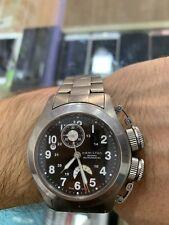 Hamilton Khaki Navy Frogman GMT Chronograph Automatic Titanium H777160 Swiss