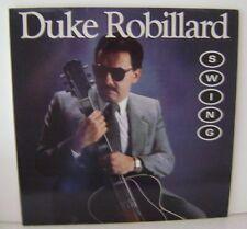 "Duke Robillard Swing LP 12"" Vinyl Rounder Records 3103"