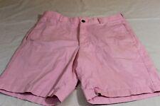 "BROOKS BROTHERS Pink Shorts Sz 34"" 100% Cotton"