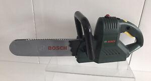 Bosch Toy Chainsaw Sound & Moving Chain Childs Battery Power Pretend Tool Klein