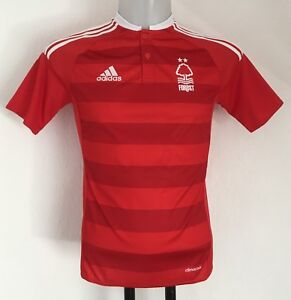 NOTTINGHAM FOREST 2016-17 S/S HOME SHIRT BY ADIDAS BOYS 11-12 YEARS BRAND NEW