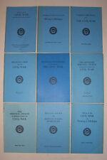 9 pamplets Michigan CIVIL WAR Centennial Observance Commission. mining, slavery