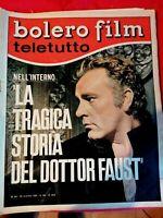 BOLERO FILM 1020 1966 RICHARD BURTON Maria Grazia buccella Janine Charrat Dalida