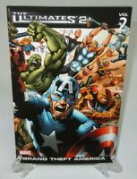 The Ultimates 2 Vol 2 Grand Theft America Marvel Comics TPB Trade Paperback New