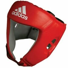 Adidas AIBA approved Boxing Head Guard XLarge Red