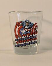 Captain America Marvel Mini-Glass 'TOON TUMBLER Shot Glass