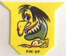 Original *Creepy Pin Up Girl* Felt Iron On Patch