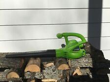GreenWorks Leaf Blower Good Condition 120V. Model 24012