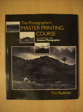 The Photographer's Master Printing Course by Tim Rudman Paperback 2000 New