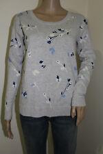 Gap Women's Long Sleeve Flower Print Sweater 100% Cotton NWT Size X-SMALL