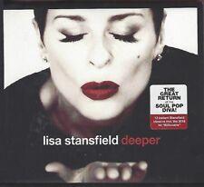 LISA STANSFIELD / DEEPER * NEW CD 2018 * NEU