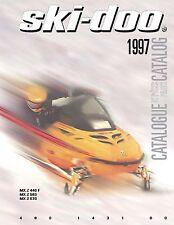 Ski-Doo parts manual catalog book 1997 Mx Z 440 F, Mx Z 583 & Mx Z 670
