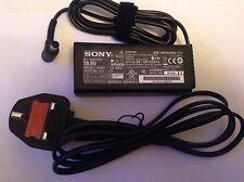 GENUINE ORIGINAL CHARGER Brand New Sony Vaio Laptop 19.5V 3.3A VGP-AC19V43