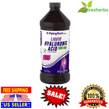 HYALURONIC ACID LIQUID 100 MG JOINT LUBRICATION BERRY FLAVOR SUPPLEMENT 16 FL OZ