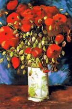 Vincent Van Gogh Poppies Art Print inch Poster 24x36 inch