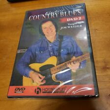 Electric Country Blues: Volume 2 (DVD) Taught by Jim Weider guitar lessons NEW