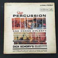 Dick Schory Wild Percussion And Horna A'Plenty 1960 Jazz LP Vinyl Record